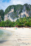 Railay beach in Krabi Thailand Royalty Free Stock Photography