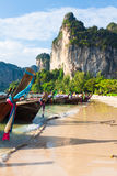 Railay beach in Krabi Thailand Royalty Free Stock Photos