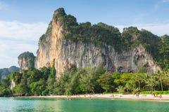 Railay beach in Krabi Thailand Stock Photos