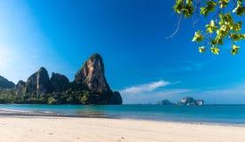 Railay beach in Krabi Thailand. Asia royalty free stock photos