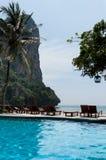 Railay beach in Krabi Thailand kajak Royalty Free Stock Photography