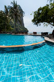 Railay beach in Krabi Thailand kajak Royalty Free Stock Images