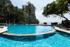 Railay beach in Krabi Thailand kajak Stock Photos