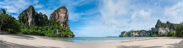 Railay beach in Krabi Thailand Stock Images