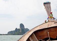 Railay beach (Krabi, Thailand) Stock Images