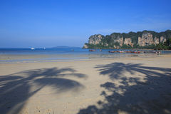 Railay Beach in Krabi, Thailand. Stock Images