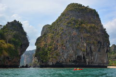 Railay beach. Krabi. Thailand Stock Photo