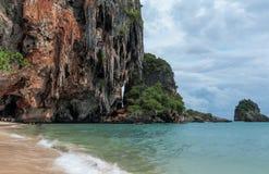 Railay beach in Krabi Thailand tropical paradise Stock Photography