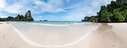 Railay beach in Krabi Thailand tropical paradise Stock Images