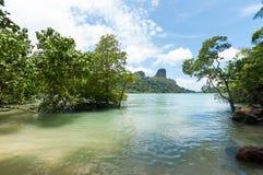 Railay beach in Krabi Thailand Royalty Free Stock Image