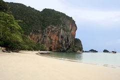 Railay beach resort krabi thailand Royalty Free Stock Image