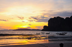 Railay Beach Stock Images