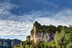 Railay Beach in Thailand Stock Image