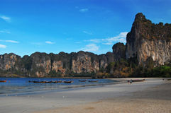 Railay beach, Thailand Royalty Free Stock Images