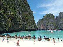 Railay Beach, Thailand stock images