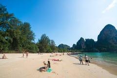 Railay beach Stock Image