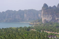Railay cliffs Royalty Free Stock Photo