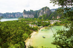 Railay East and West Royalty Free Stock Photo