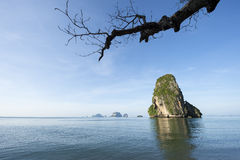 Railay Krabi Thailand Phranang Karst Mountain Royalty Free Stock Photo