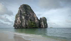 Railay occidental, Krabi images stock