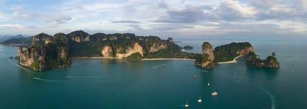 Railay och Pranang strand, Thailand royaltyfri foto