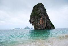 Railay plaża w Krabi, Tajlandia obrazy royalty free