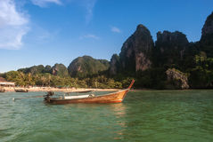 Railay strand i Krabi Thailand Arkivbilder