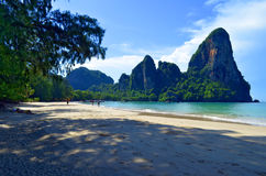 Railay-Strand nahe AO Nang, Thailand stockfotos