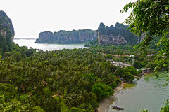 Railay Strand, Thailand Lizenzfreies Stockbild