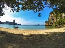 Railay strandkrabi thailand Fotografering för Bildbyråer