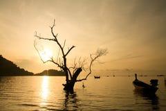 Railay sunrise Royalty Free Stock Images