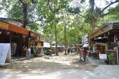 Railay village near Ao Nang Royalty Free Stock Photography