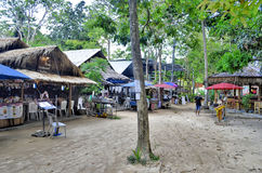 Railay village near Ao Nang Stock Photos