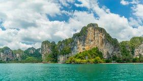 Railay West beach in Ao Nang, Krabi Thailand. Railay West beach in Ao Nang, Krabi province, Thailand royalty free stock photo