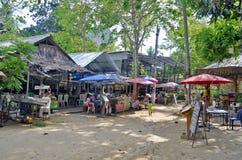 Railay wioska blisko Ao Nang Zdjęcia Royalty Free