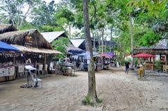 Railay wioska blisko Ao Nang Zdjęcia Stock