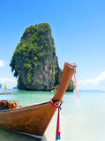 Railay wyrzucać na brzeg, Krabi, Andaman morze Tajlandia Obraz Royalty Free