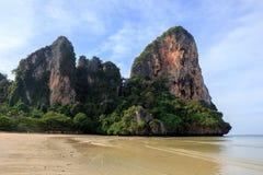 Railaystrand Thailand. Royalty-vrije Stock Afbeelding