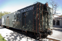 Railcar Royalty Free Stock Photography