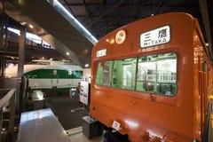 Railcar för gruppKumoha 101 elkraft  Royaltyfria Foton
