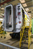 Railcar repair Royalty Free Stock Photo
