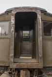 Railcar viejo en Duluth, Minnesota Imagenes de archivo