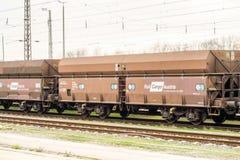 RailCargo奥地利 免版税图库摄影