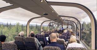 Railcars van de McKinley Uitdrukkelijke Koepel Royalty-vrije Stock Fotografie