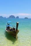 Railey海滩, Krabi,泰国 图库摄影