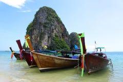 Railey海滩, Krabi,泰国 免版税库存图片