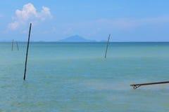 Railey, Krabi泰国海 库存照片