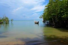 Railey, Krabi泰国海 图库摄影