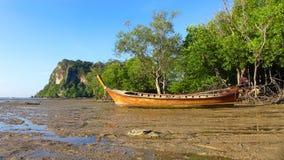 Railey, Krabi泰国海 免版税图库摄影
