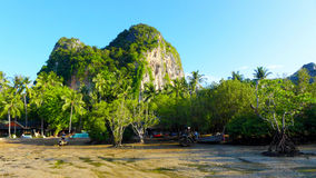Railey, море Krabi Таиланда Стоковые Фото